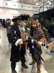 Hector Barbossa And Captain Jack Sparrow by JUMBOLA