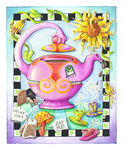 JUST MAD ABOUT TEA PARTY by popartdiva