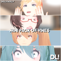 [MMD] MINI PACK VINES (MOTION's DL) by DollyMolly323