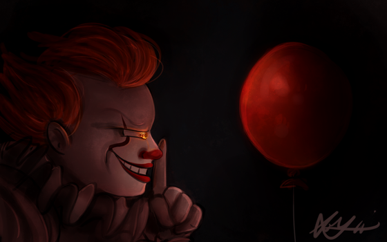 We All Float Down Here by Blossom-fur7