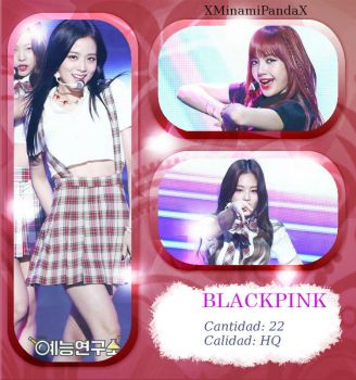 #7059|BLACKPINK|Photopack#54 by XMinamiPandaX