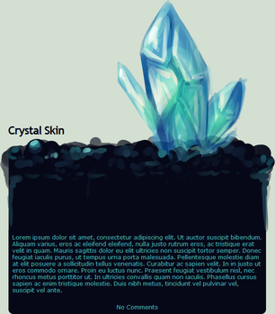 Crystal Skin by JAYWlNG