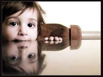 A reflection of innocence by gilad