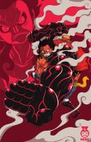 Luffy Gear 4 by Fraviro