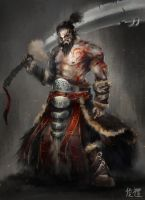 Barbarian by IvanChanCL
