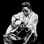 100 Years of Lightnin' Hopkins by clayrodery