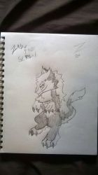 zabu the sergal by derpyhooves814