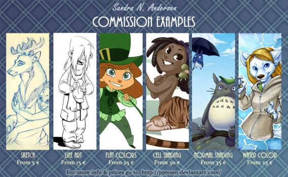 Commission Examples by Pjevsen