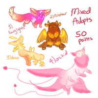 Mixed Adopts by Plant--Mom