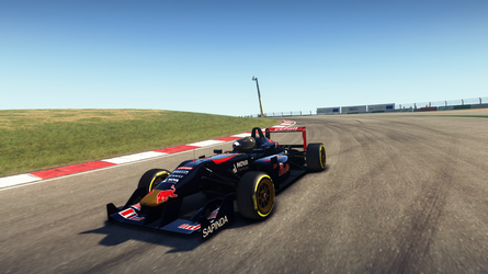 Scuderia Toro Rosso Livery for Dallara F312 by NG-yopyop