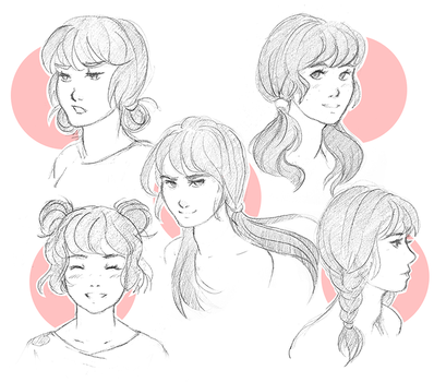 Pigtails by venrin