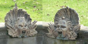 stone grimaces by two-ladies-stocks