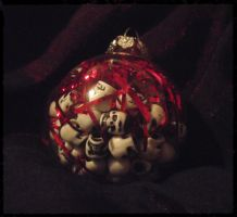 Dark Christmas Ornament 1 by dischordiasnightmare