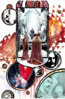 Dr Strange Annual Page by xiconhoca