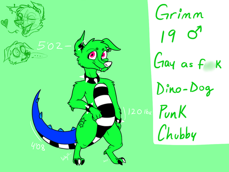 GRIMM IS MY GAY BOI - by Sinister-Toaster