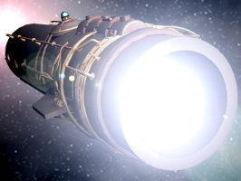 Star Engine Rear by Coutelier