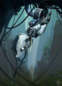 Ponified GLaDOS by toki-reatle