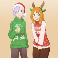 Christmas Sweaters by Phoelion