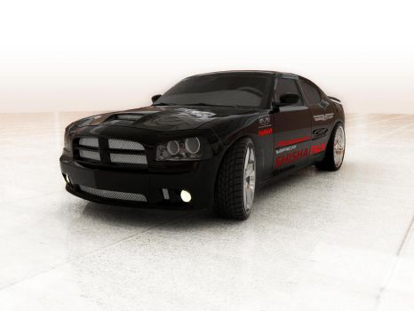 DODGE CHARGER - MY DREAM CAR by syarawi
