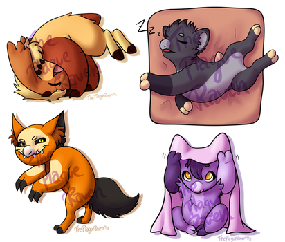 Wyngling YCH - Dreamer's Kids by ThePlagueRaven