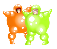 Art Trade Balloon Suits~ by ICmyaieye