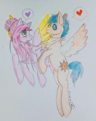 Sunset Amour and Solar Flare .:CE:. by Mystic-Lemon