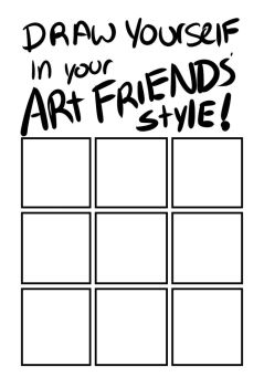 Draw yourself like your friends meme by starlightv