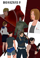 Resident Evil 2 Tribute by Matt-Addison