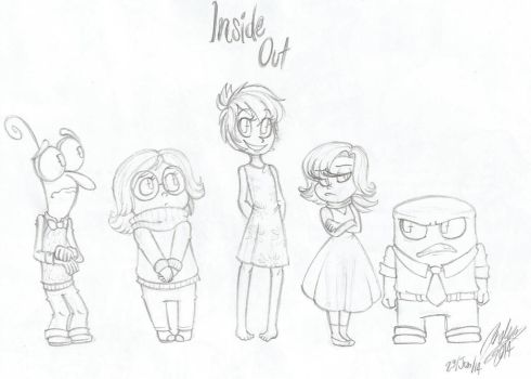 Inside Out doodle by MasterofDoodlez