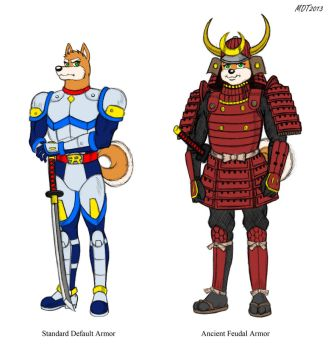 Tsunami's Outfits (Colorized) by MDTartist83