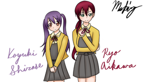 Love live school idol art request by Drawingsomecrap