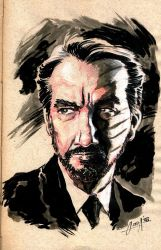 Alan Rickman tribute by mistermoster
