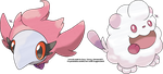 Spritzee and Swirlix by Xous54