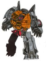 tf prime grimlock colour by hulkling