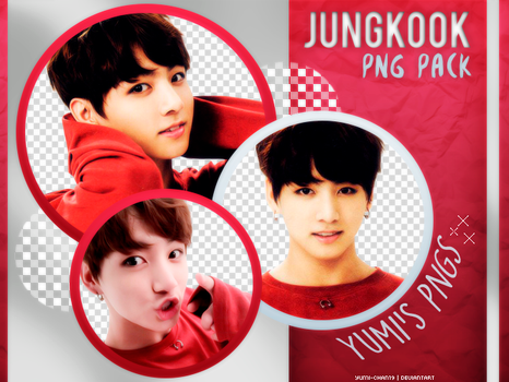 PNG PACK: Jungkook (BTS) #10 by Hallyumi