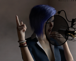 Hitting the high notes by Steves-3D