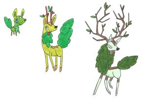 Deer OLD by FrozenFeather