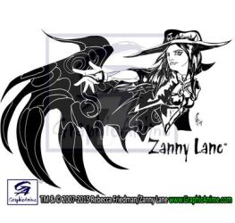Zanny Lane:ZLA T-Shirt by GraphicAnime