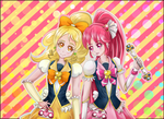 Cure Lovely and Cure Honey by Yukiyukiko