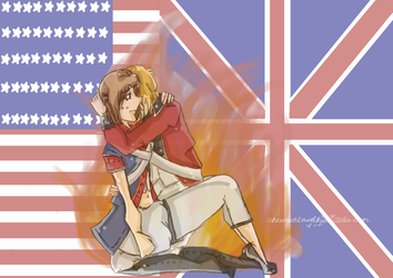 Can't let go... [USUK] by NewZealandKiwi