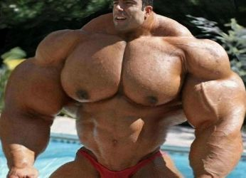 Muscle at the Pool - Bigger 3 by n-o-n-a-m-e