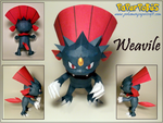 Weavile Papercraft by Skeleman
