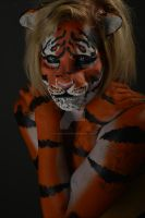 This Tiger's Awake by rachaelwagner