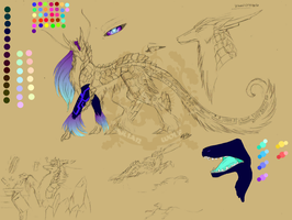 -:Vivens Crystallo:- Sketch concept by Hylianwolf