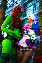 Ivy x Harley: You Don't Need Him  by Oreparma