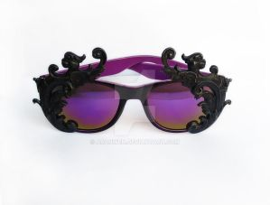 Gothic sunglasses
