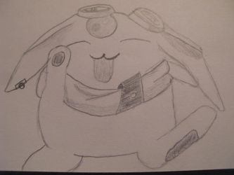 Mokona by Lady-Of-The-Pen