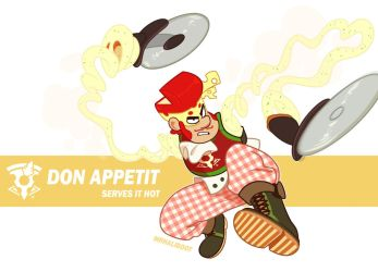 ARMS - Don Appetit by MrHaliboot