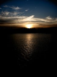 Sunset of an Unknown Lake 2 by mikeakabatman