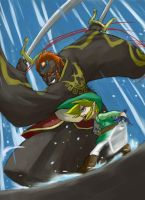 WW - Link VS Ganondorf - final by gts